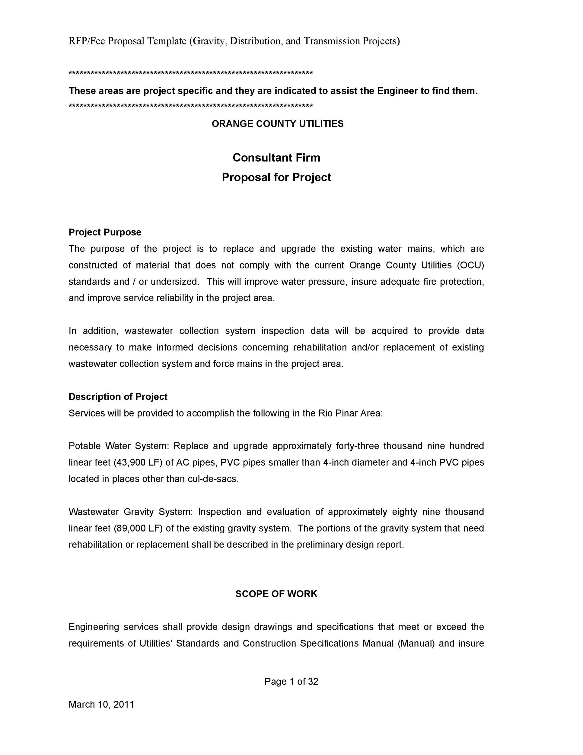 Free Consulting Proposal Template 28