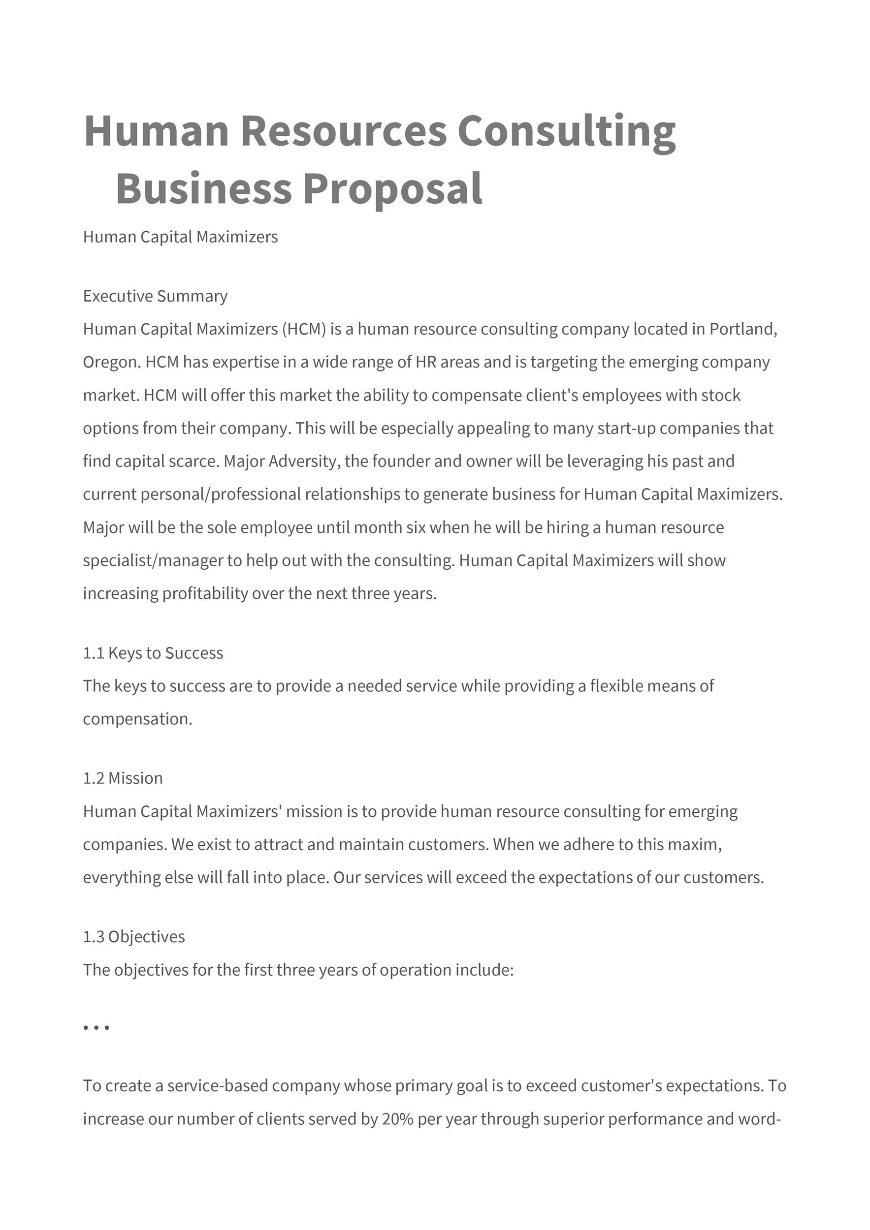 39 BEST Consulting Proposal Templates FREE ᐅ Template Lab