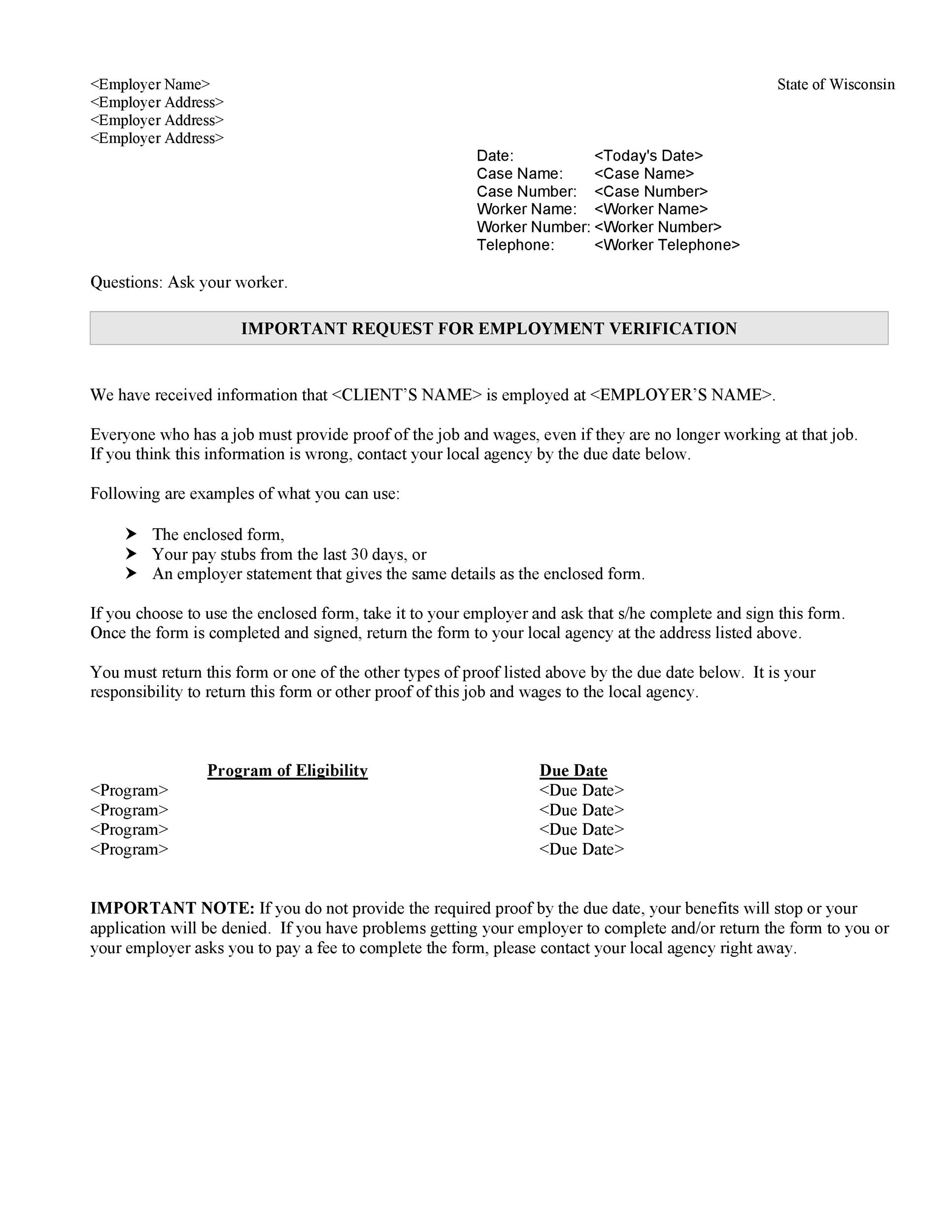 40 Income Verification Letter Samples Amp Proof Of Income