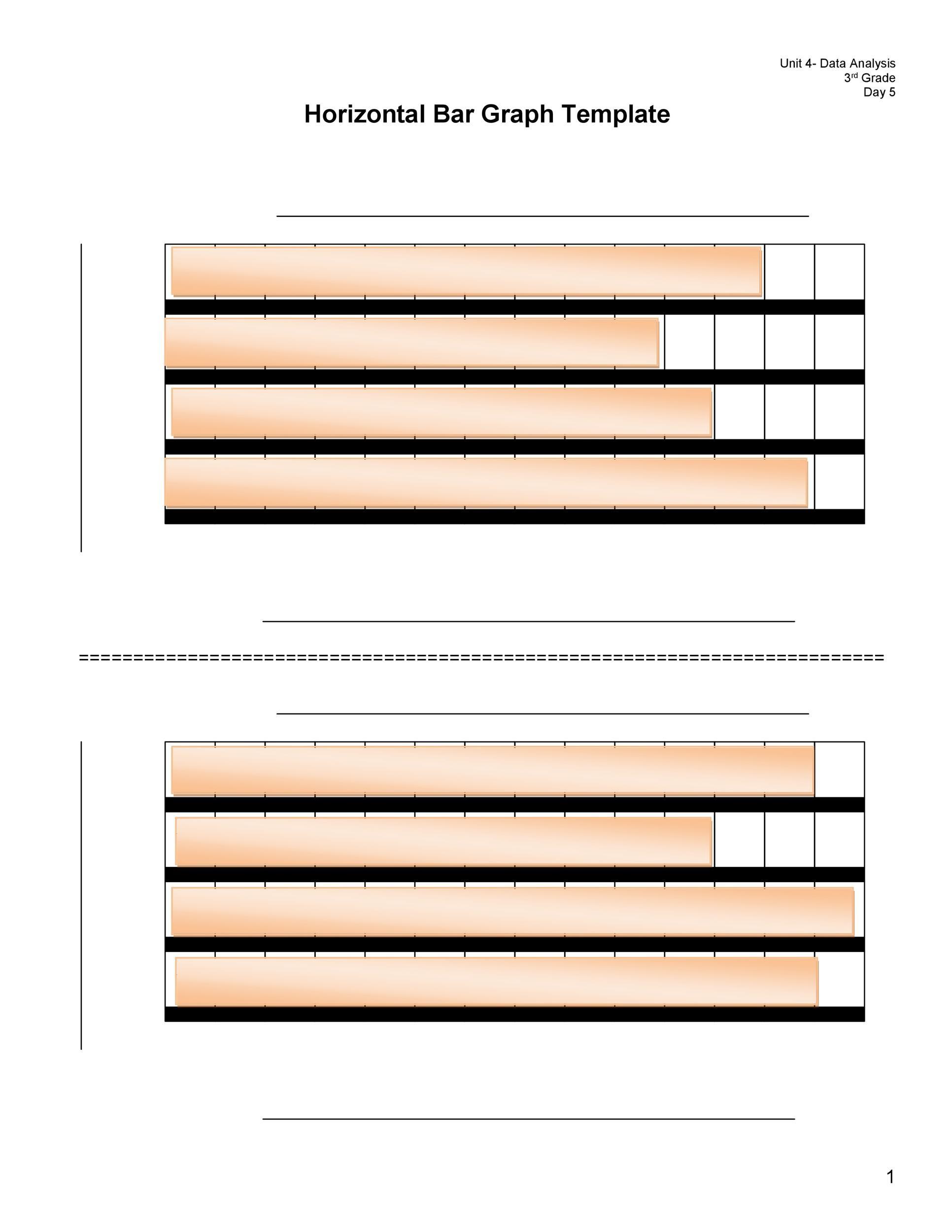 41 Blank Bar Graph Templates Bar Graph Worksheets