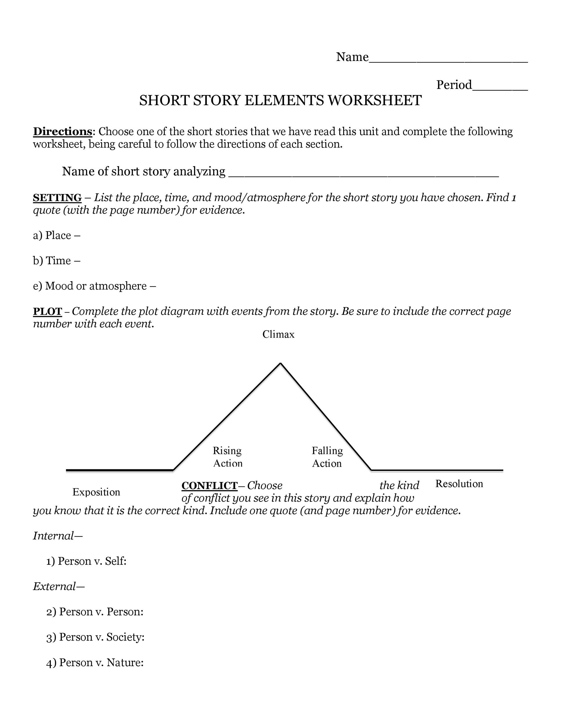 hight resolution of free plot diagram template 05