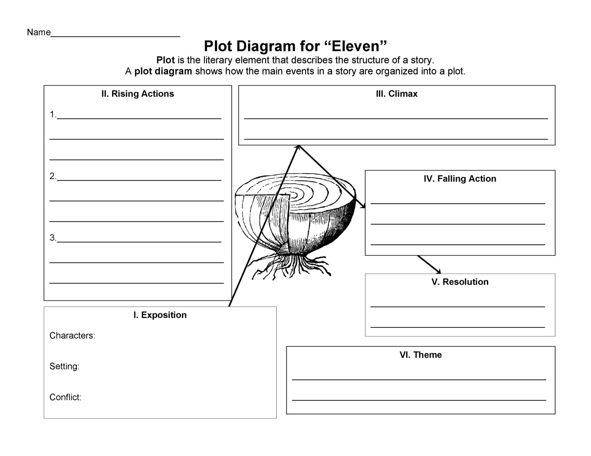 hight resolution of free plot diagram template 26