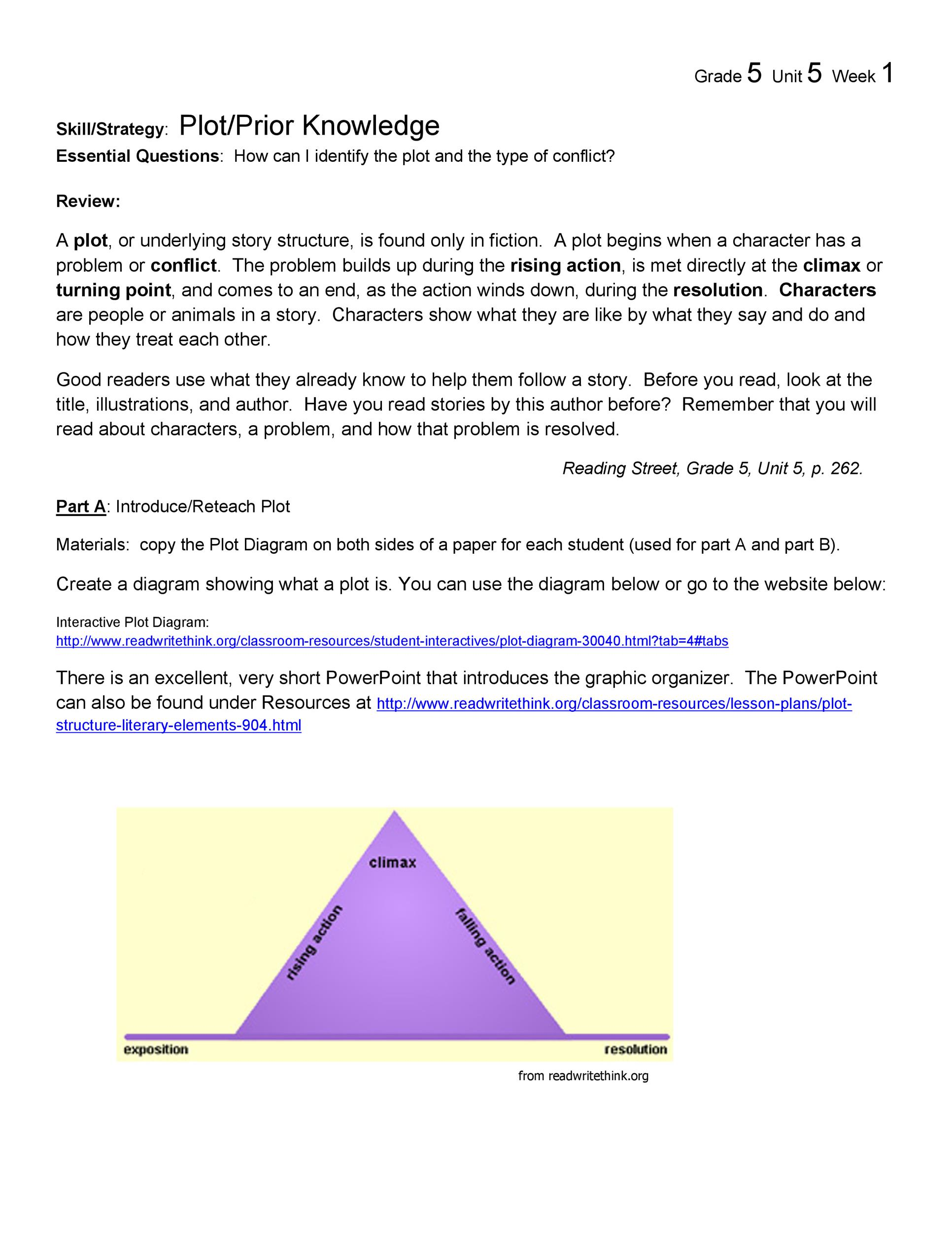 hight resolution of free plot diagram template 27