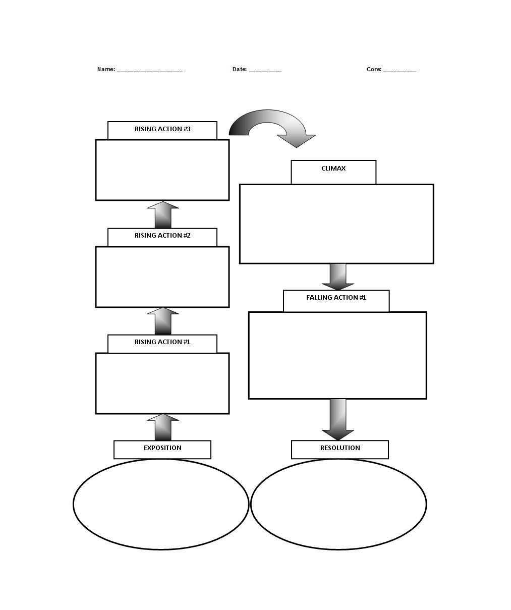 45 Professional Plot Diagram Templates (Plot Pyramid