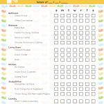 40 Printable House Cleaning Checklist Templates ᐅ Templatelab
