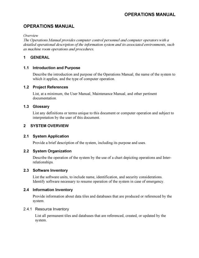 15 Free Instruction Manual Templates [Operation / User Manual]