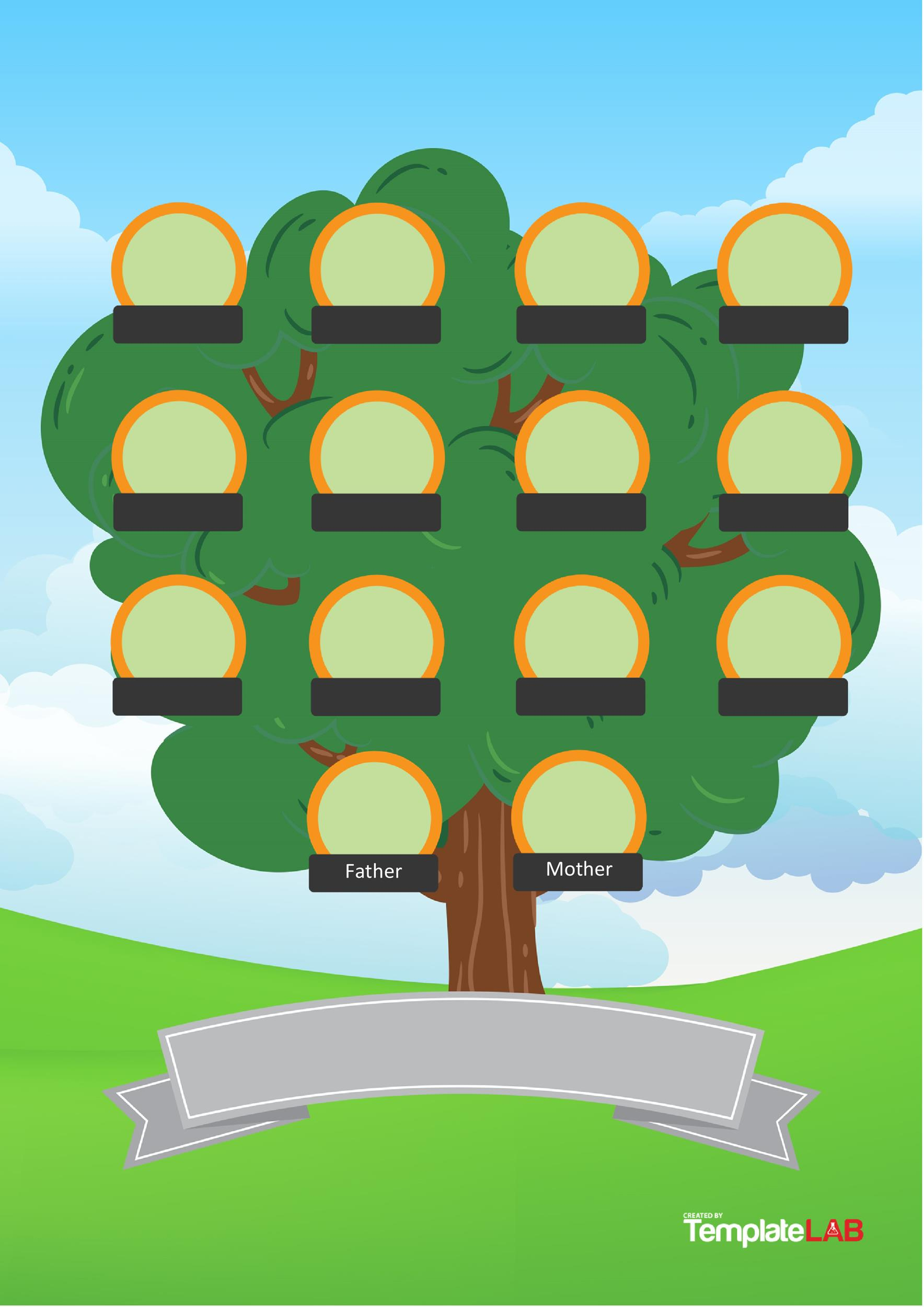 41 Free Family Tree Templates Word Excel
