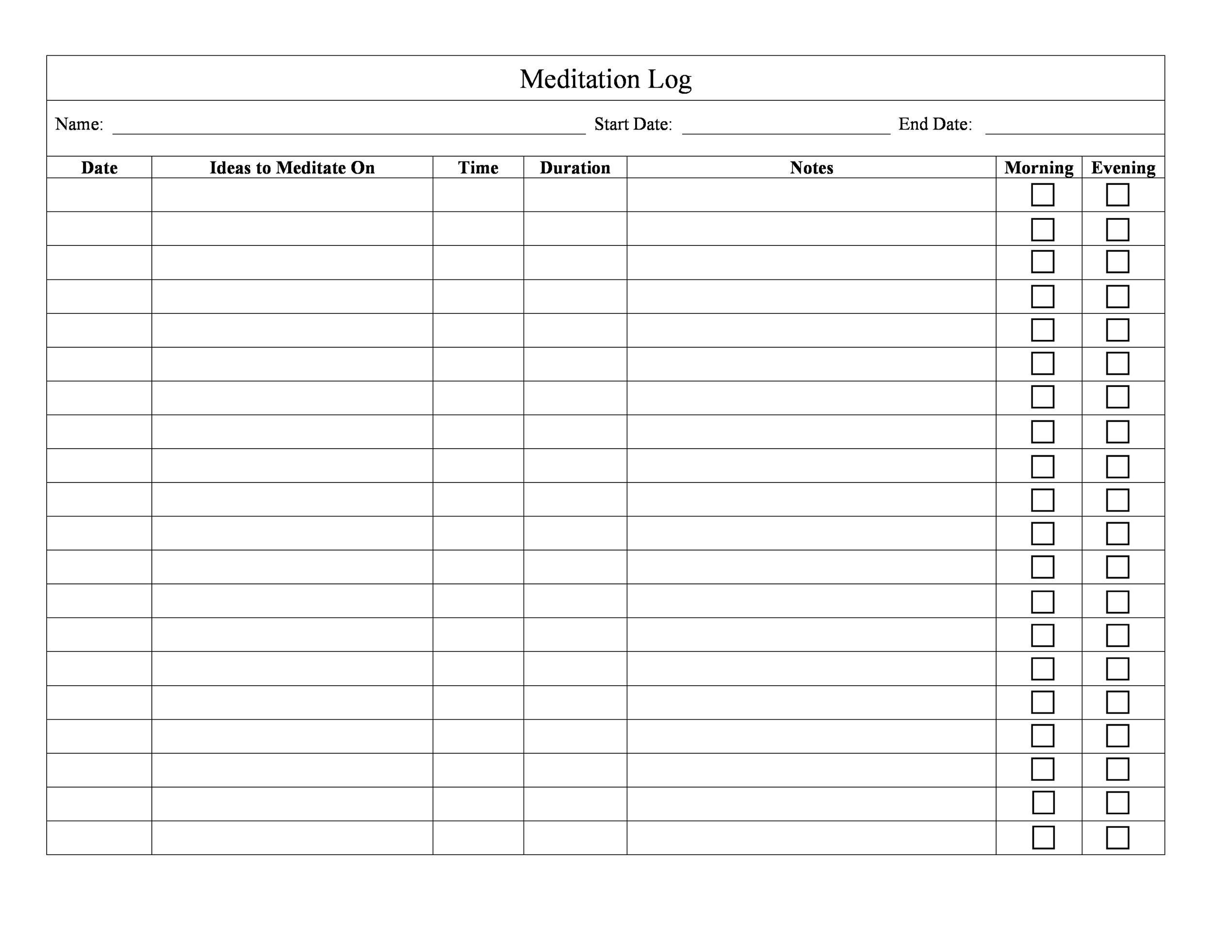 medication template