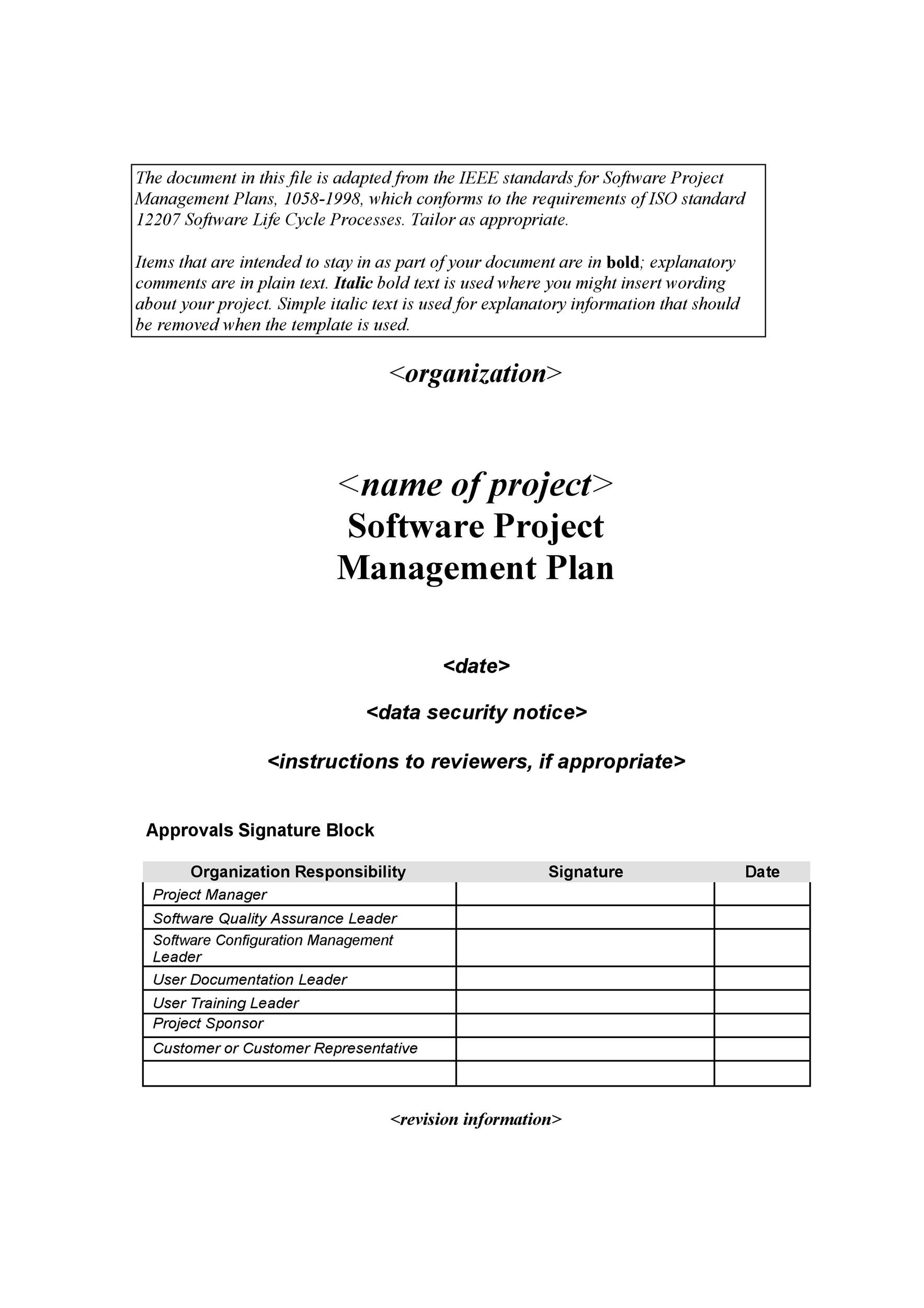 Project Overview Template Tutore