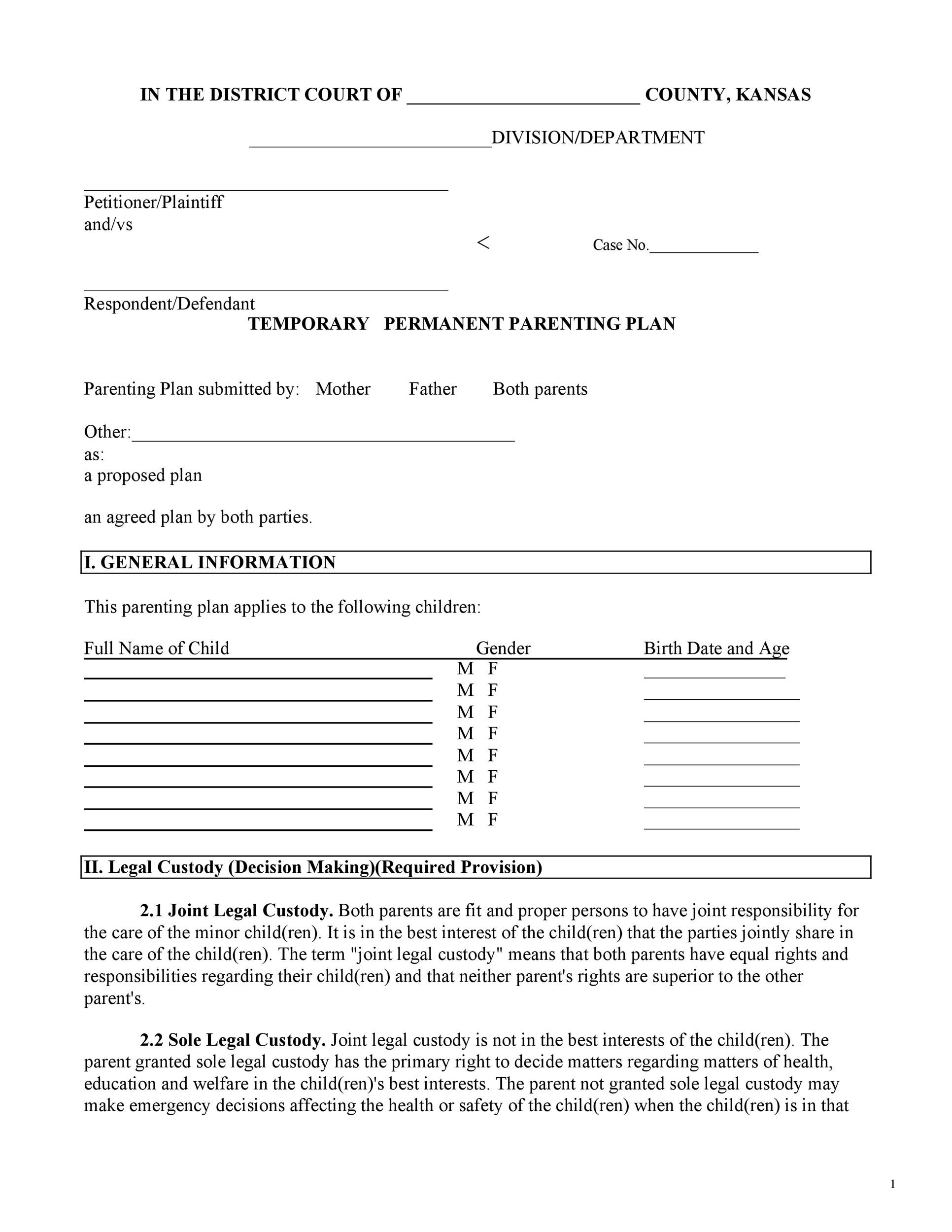 Child Support Worksheet Georgia