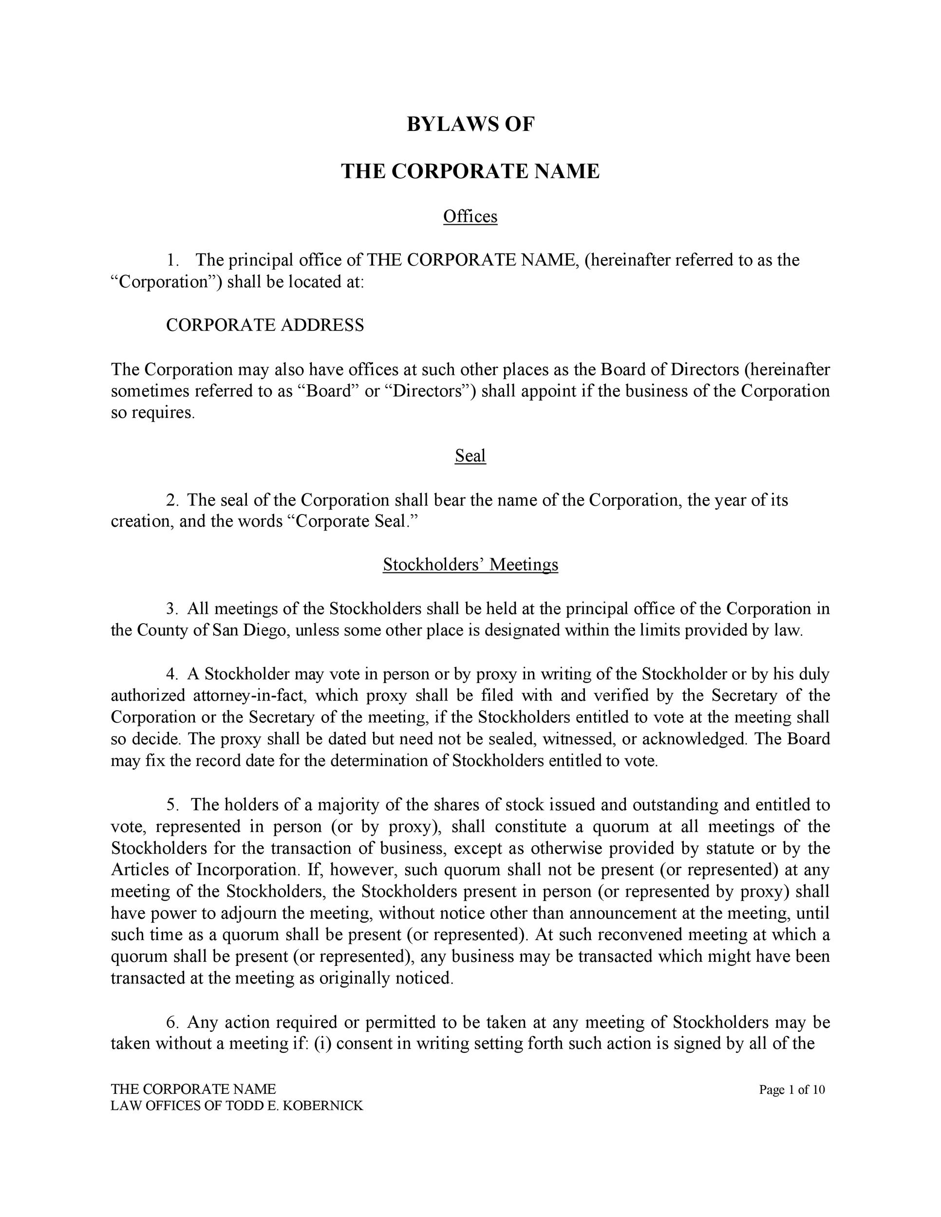 Corp To Corp Agreement Template Tutore