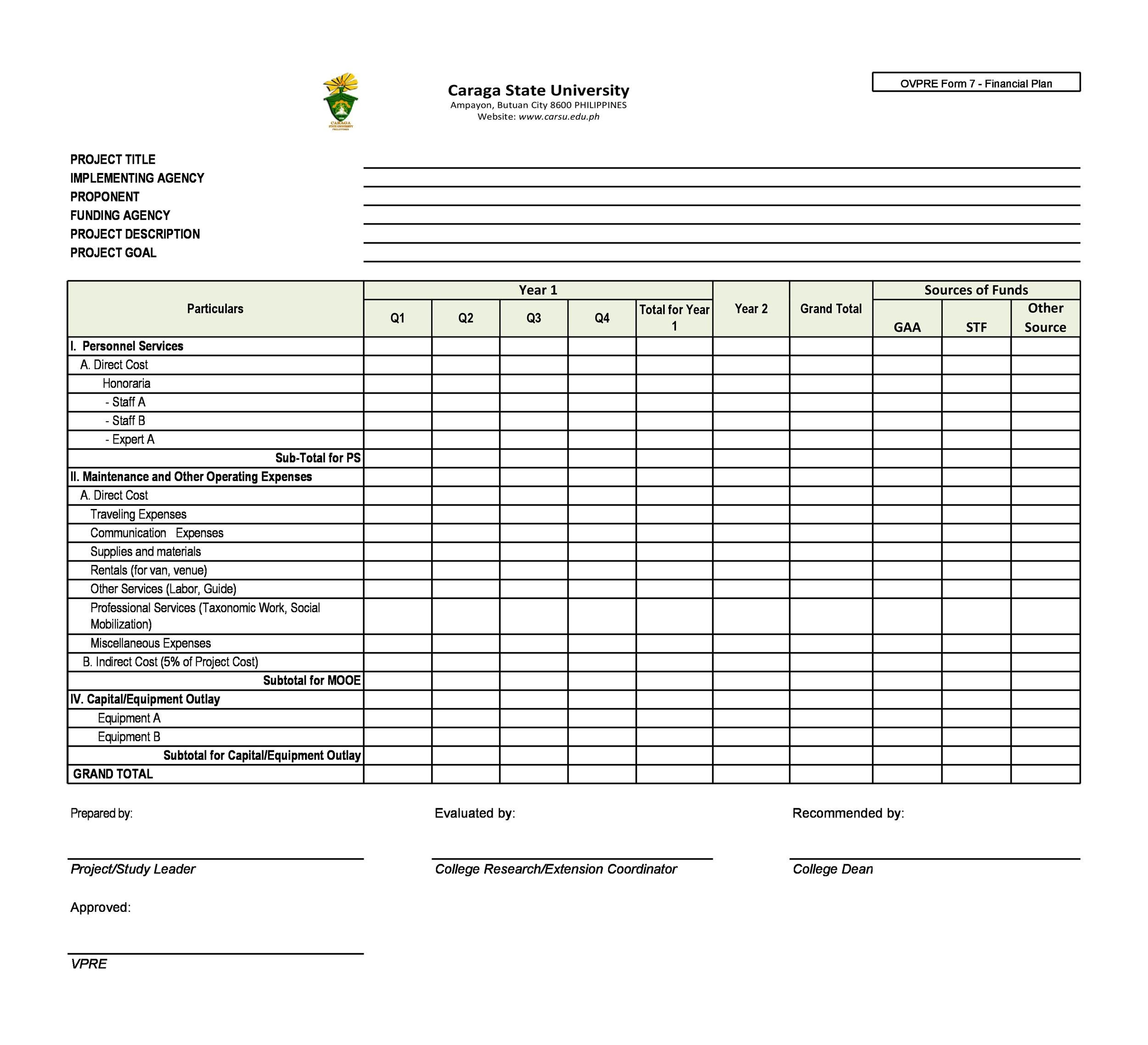 Try a financial template calculator in excel to help pay off a car loan, student loan, or credit card … 50 Professional Financial Plan Templates Personal Business Á…