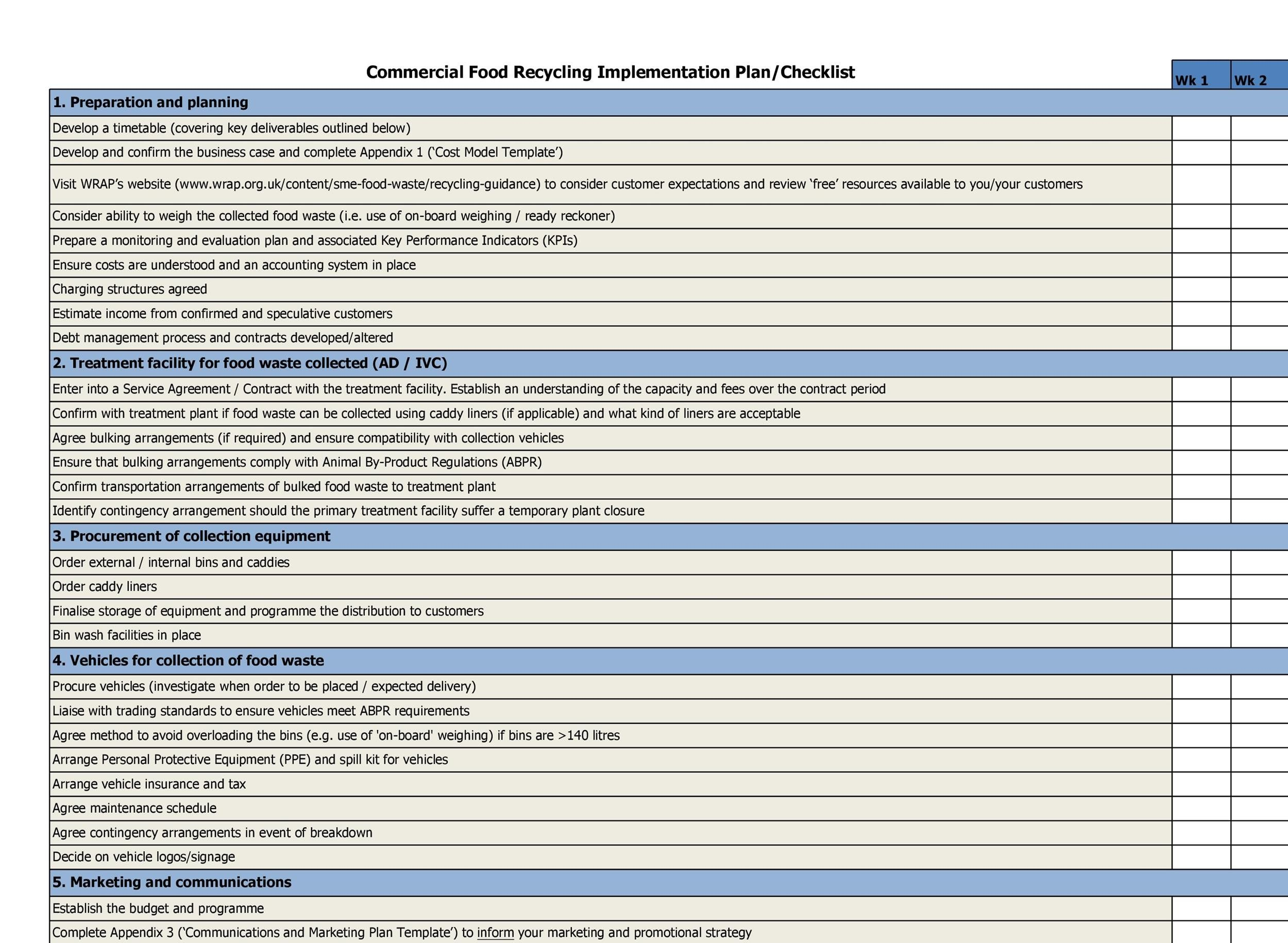 Include any references to service level agreements which describe the performance requirements, availability, security requirements, expected response times, system backups, expected transaction rates, initial storage requirements with expected growth rate, as … 43 Step By Step Implementation Plan Templates Á… Templatelab