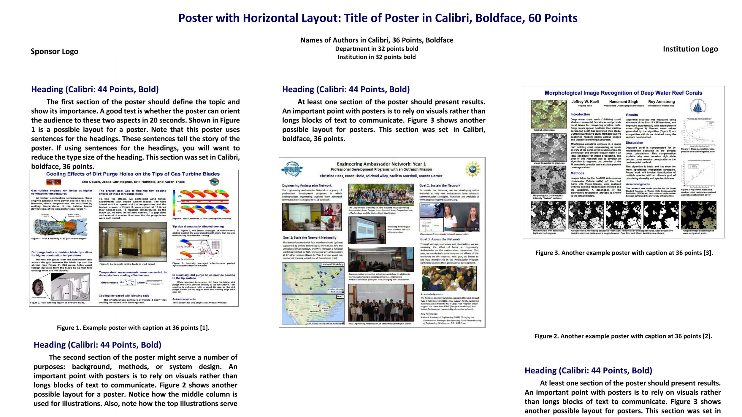 40 eye catching research poster