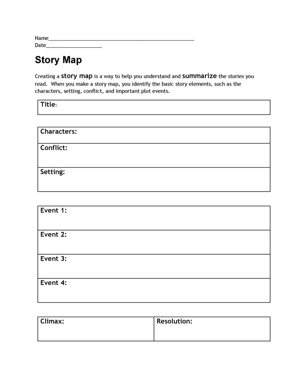 medium resolution of 41 Free \u0026 Printable Story Map Templates PDF / Word ᐅ TemplateLab