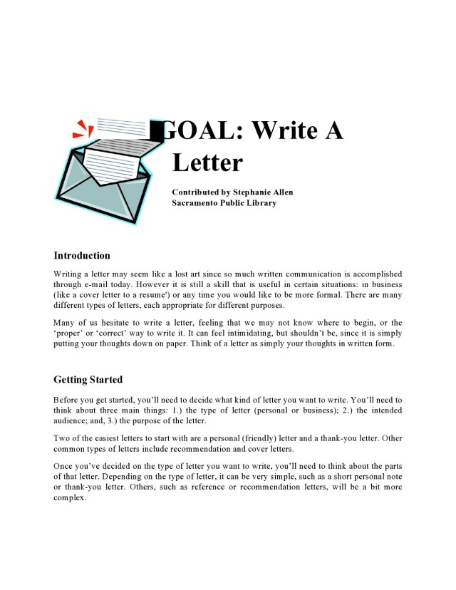 14 Best Personal Letter Format Templates [14% Free] ᐅ