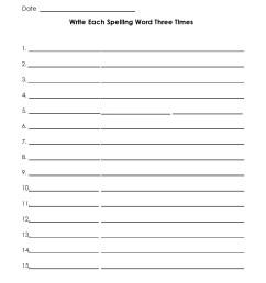 38 Printable Spelling Test Templates Word \u0026 PDF ᐅ TemplateLab [ 1650 x 1275 Pixel ]