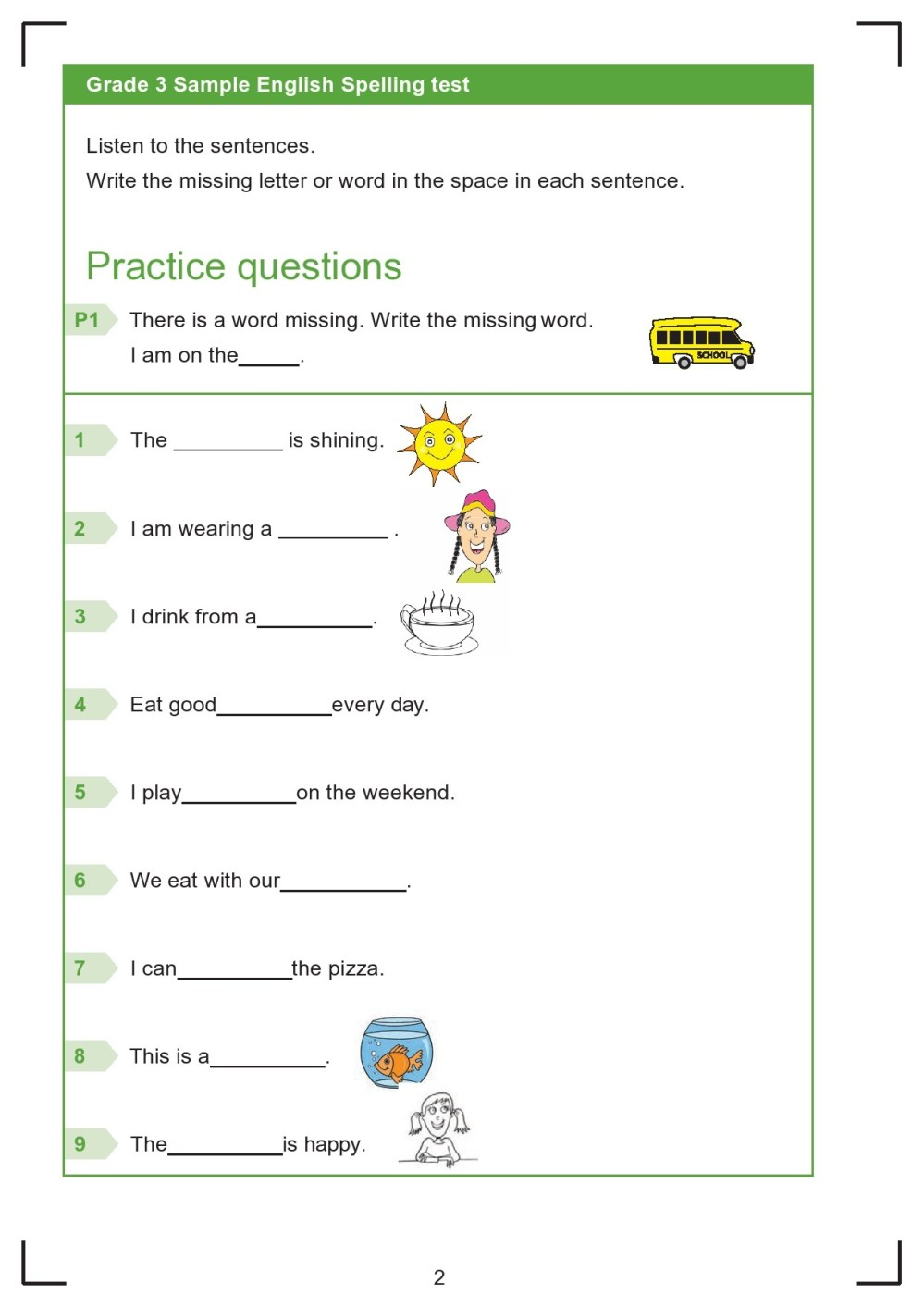 medium resolution of 38 Printable Spelling Test Templates Word \u0026 PDF ᐅ TemplateLab