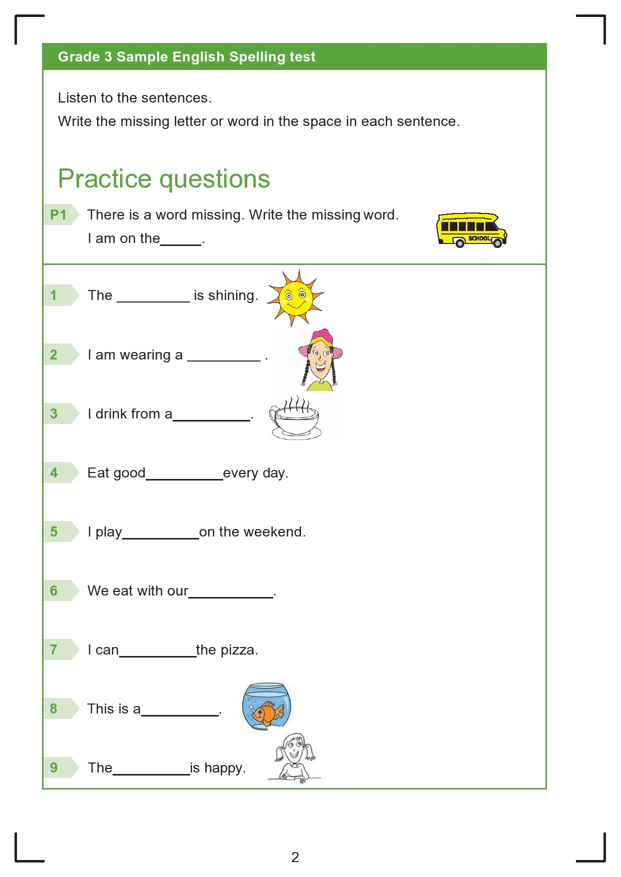 hight resolution of 38 Printable Spelling Test Templates Word \u0026 PDF ᐅ TemplateLab