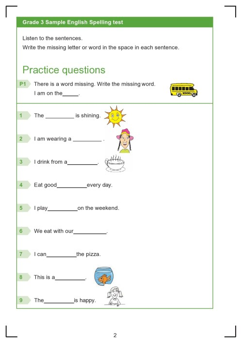 small resolution of 38 Printable Spelling Test Templates Word \u0026 PDF ᐅ TemplateLab