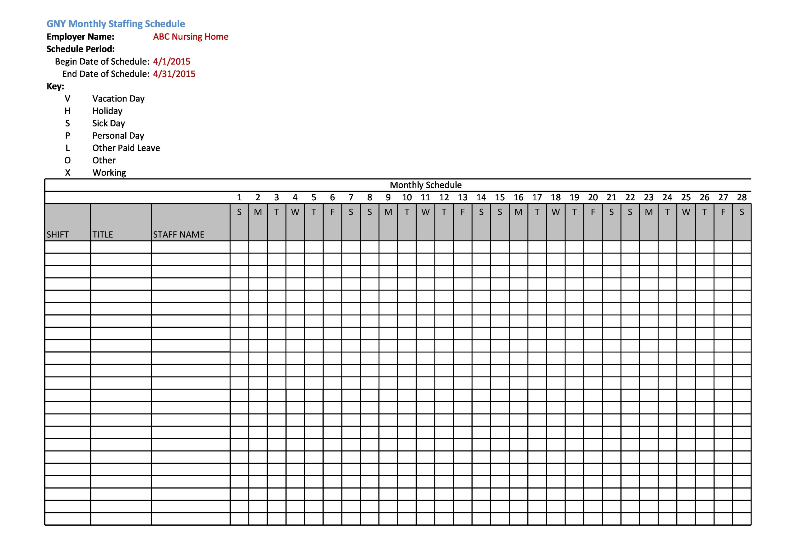 21/08/2020· an employee schedule template is a calendar that facilitates employee scheduling in a place of work. 40 Free Employee Schedule Templates Excel Word Á… Templatelab