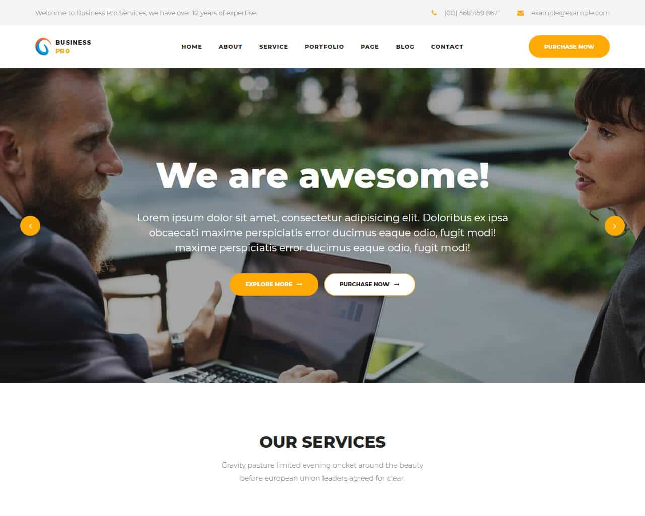 All templates are fully customizable with drag and drop. 25 Pro Business Website Templates 2019 Templatemag