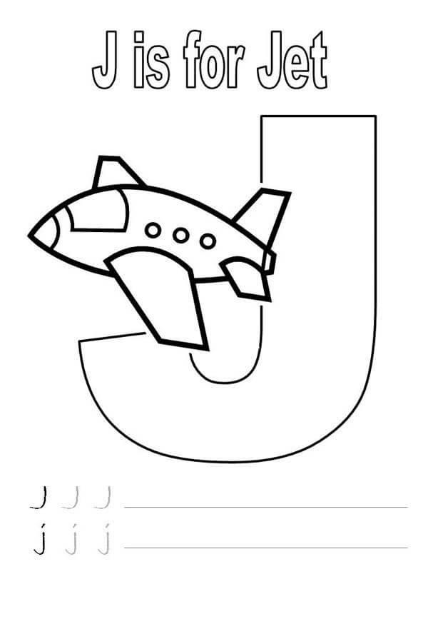Downloadable Letter J Worksheets for Preschool