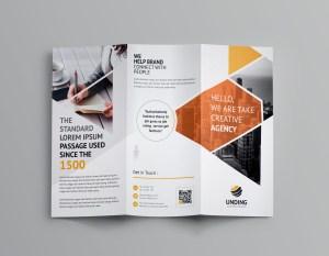 Aeolus Corporate Tri-Fold Brochure Template