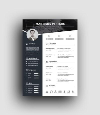 Berlin Premium Professional Resume Template