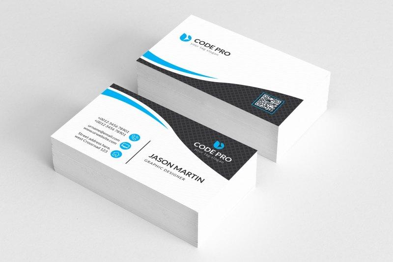 PSD Name Card Template
