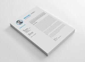 A4 Impressive CV Template