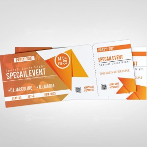 Creative Event Ticket Template