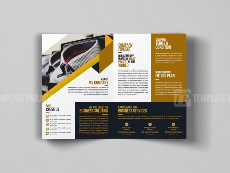 Creative Bi-Fold Booklet Template