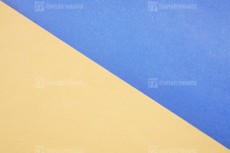 Blue and orange color paper background
