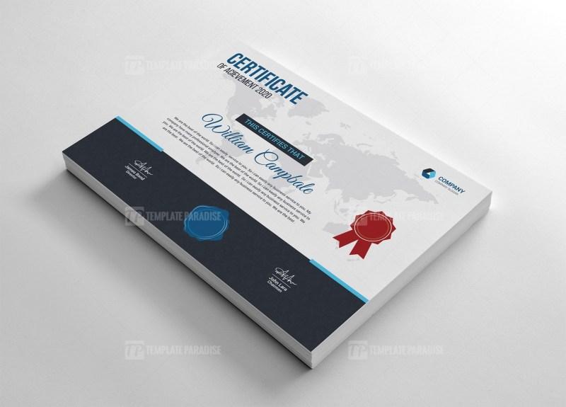 Finance Certificate Template