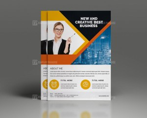 Promotional Corporate Flyer Template