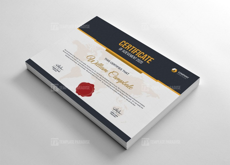 Bachelor of Certificate Template