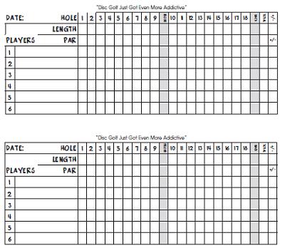 20+ Free Golf Scorecard Templates (PDF, Word, Excel