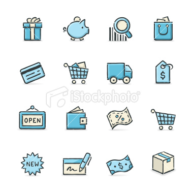 blueshoppingicons
