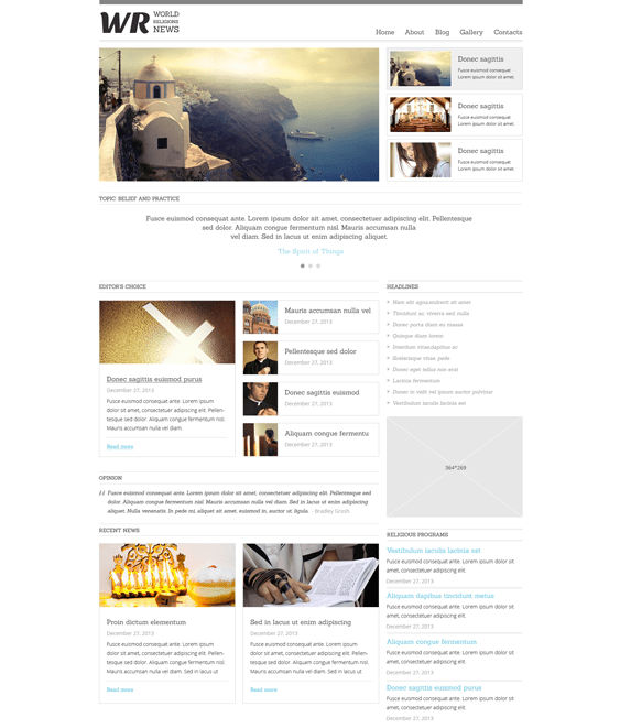news joomla templates portal