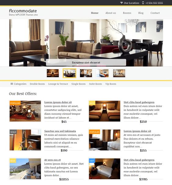Paradise Hotel Rtl: 10 Of The Best Hotel WordPress Themes