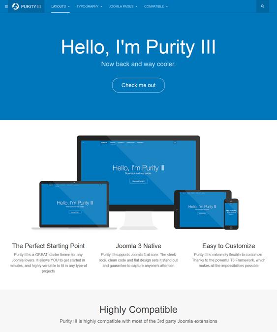 purity3 mijoshop joomla template