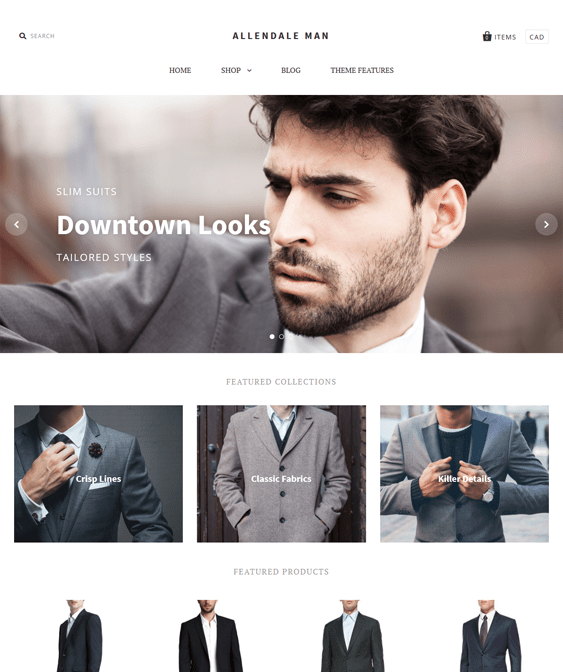 pacific bold shopify themes clothing stores