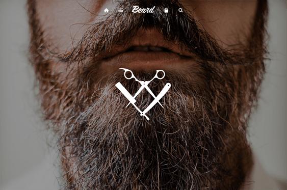 beard health beauty shopify theme