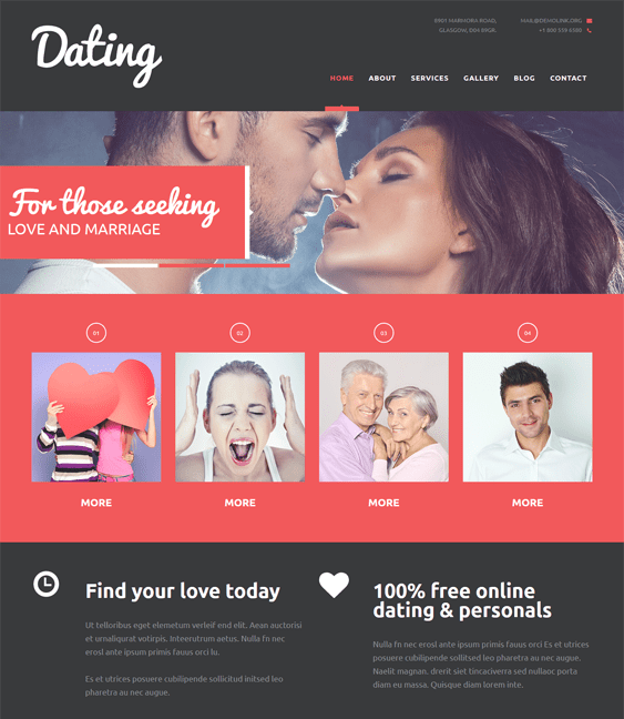 dating website template joomla The templates have been coded with css and js compression that perform well even under heavy server loads and ensure that your online daters face no lag.