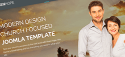more best church joomla themes feature