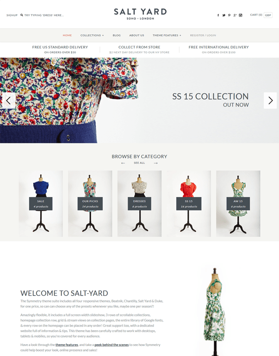 salt yard shopify themes clothing stores
