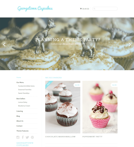sugar bright minimal shopify themes
