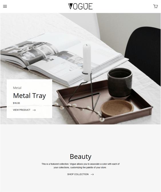 vogue health beauty shopify theme