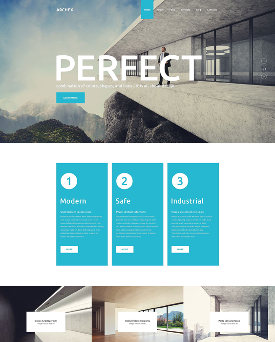 architectural architect wordpress themes